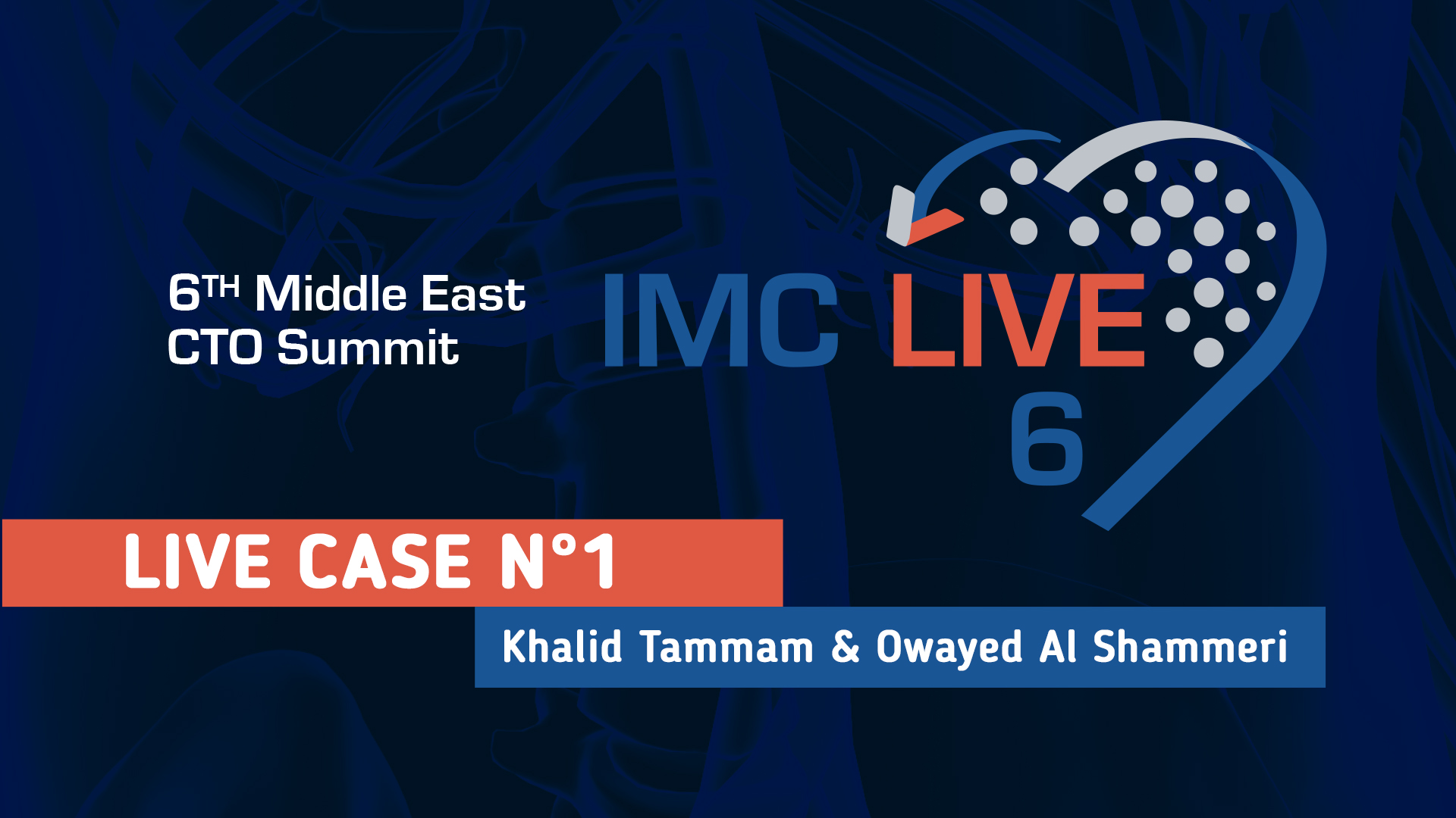 Live Case 10: Dr James Spratt & Dr Mohamed Al Shehri