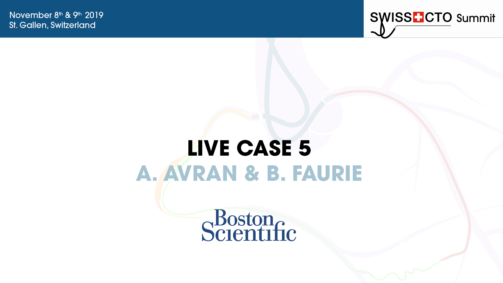 Live case from Swiss CTO Summit 2019 - Dr Avran & Dr Faurie