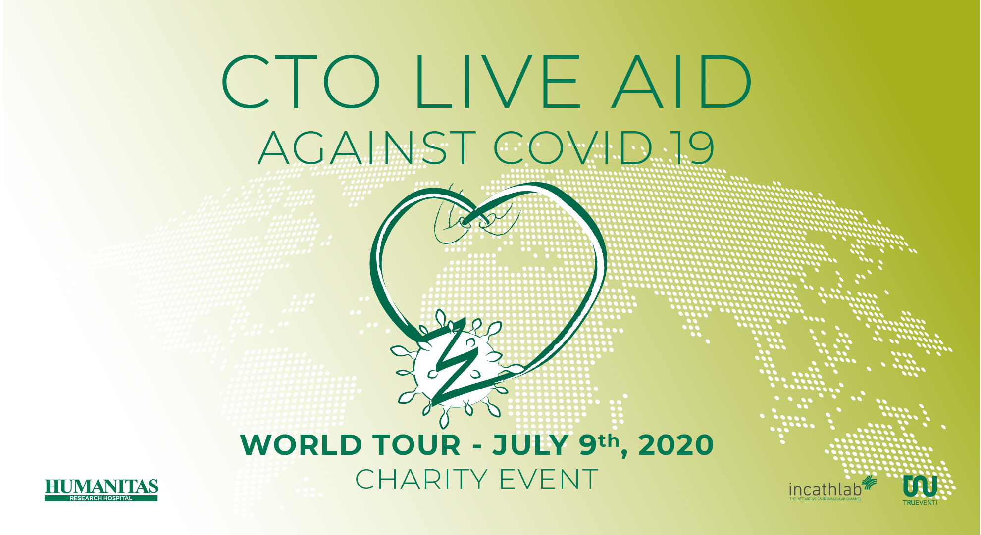 CTO LIVE AID - WORLD TOUR AGAINST COVID-19