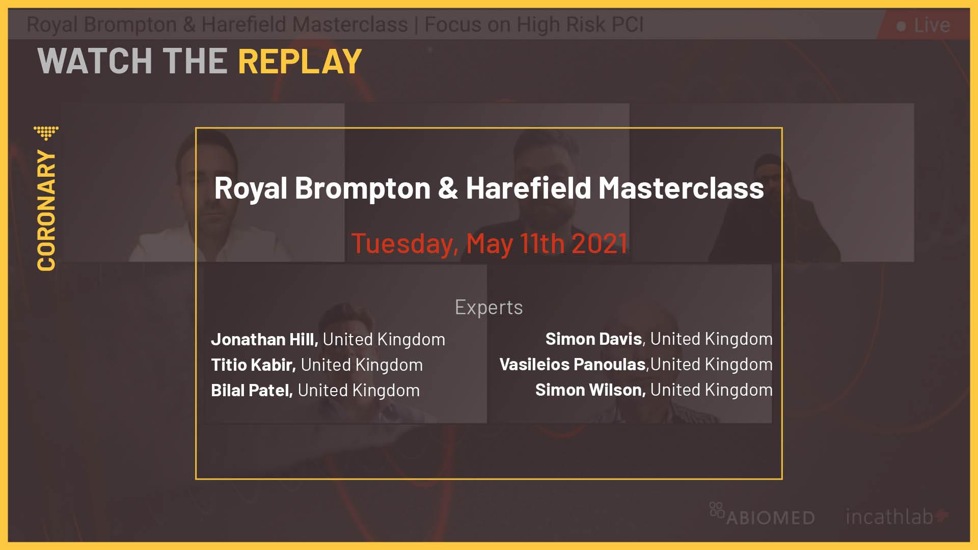 Royal Brompton & Harefield Masterclass
