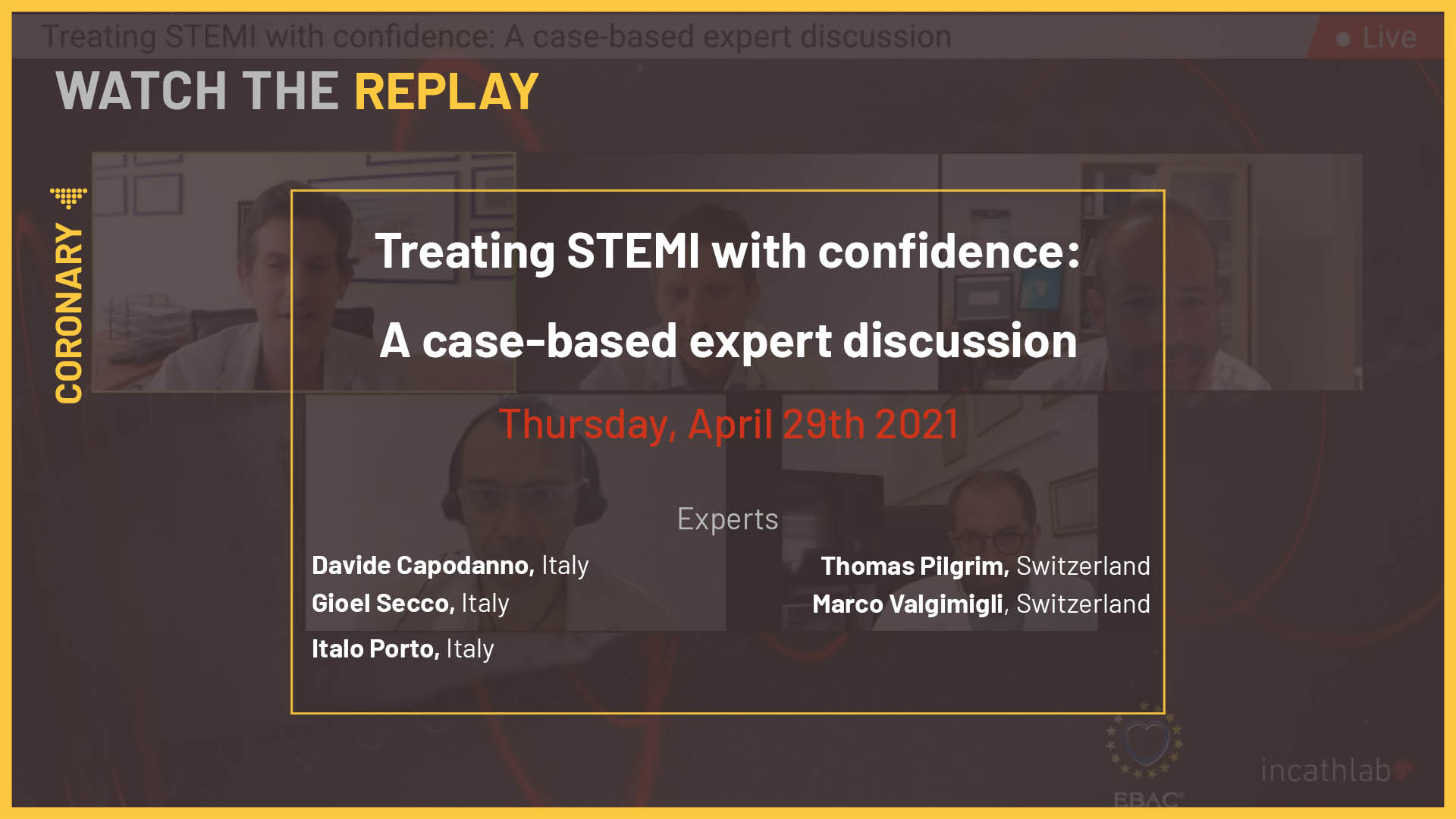 Treating STEMI with confidence: A case-based expert discussion