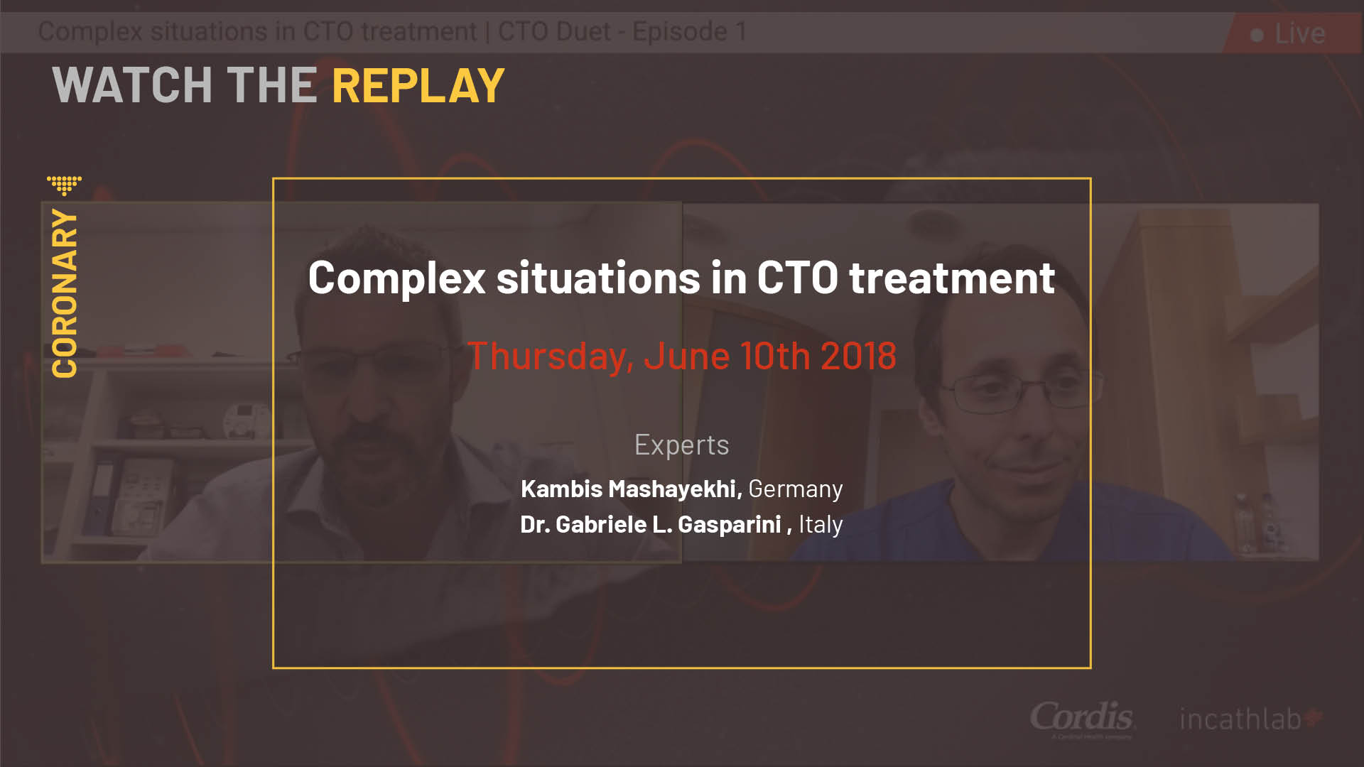 Complex situations in CTO treatment