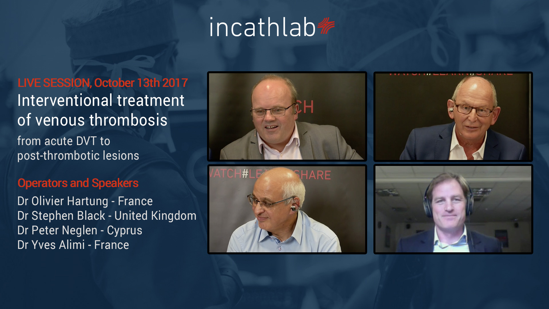 3rd live Websymposium on Venous Interventions